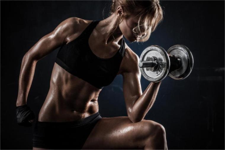 sports-women-exercising-sports-bras-gym-clothes